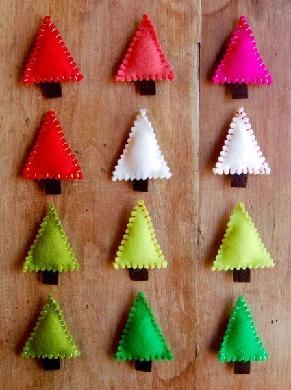 1-homemade-christmas-ornaments-​​of-felt