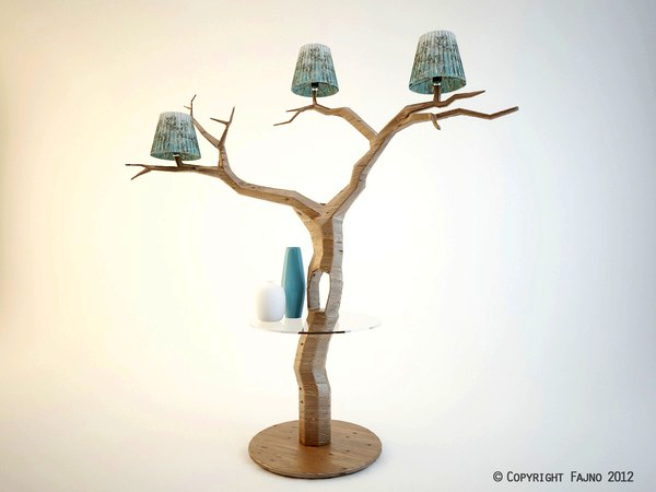 creative light my treem project studio fajno ideas for home garden. Black Bedroom Furniture Sets. Home Design Ideas