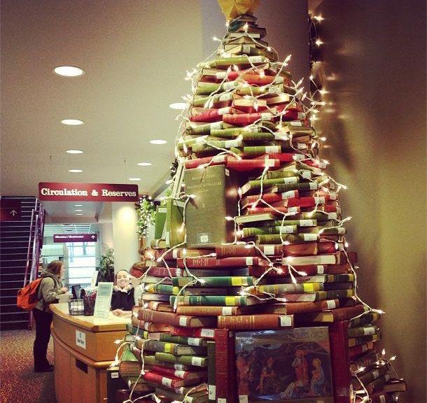 Fantastic ideas alternative christmas tree ideas for - Cool christmas tree ideas ...