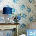 Ease in the interior design of Laura Ashley