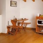 Hinged furniture