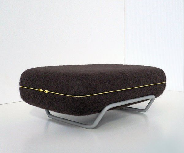 Compact Sofa With Folding Backrest