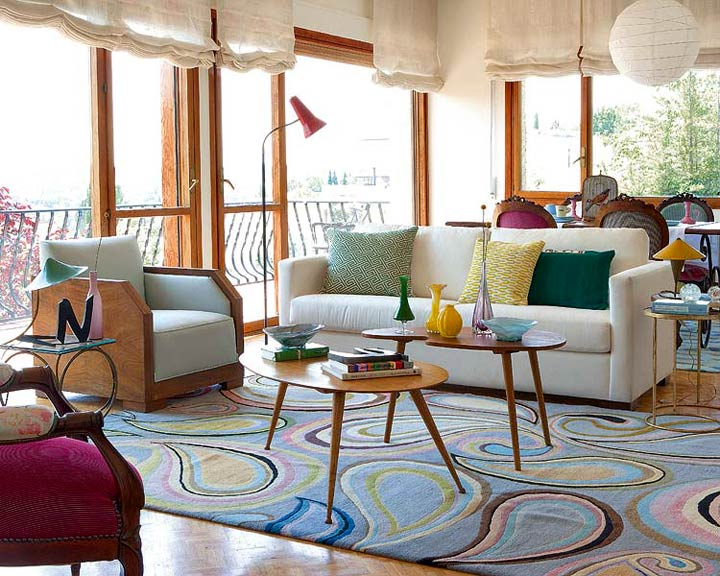 Retro interior designer teresa abaitua ideas for home for 70 s room design