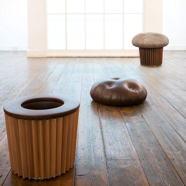 Seats for fans of unusual furniture or sweet lovers for Quirky home furniture
