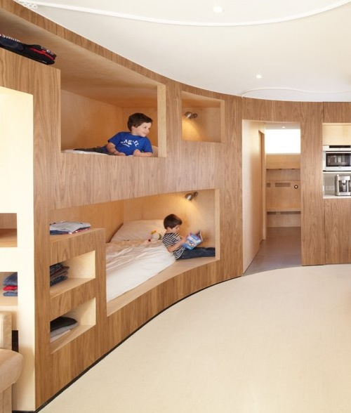 Interesting decision bunk beds for children s room ideas for Futon kids room