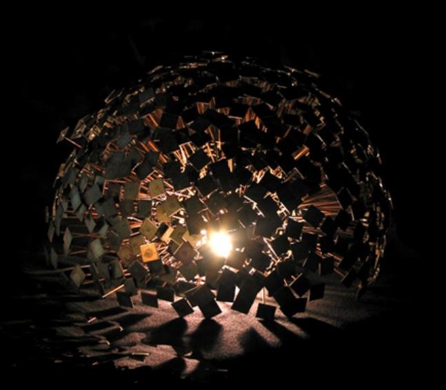 amazingly beautiful illuminated sculpture