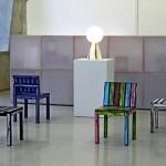 Cartoon chairs Series Logo chairs
