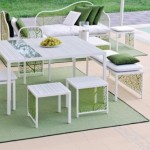 Exquisite collection of garden furniture