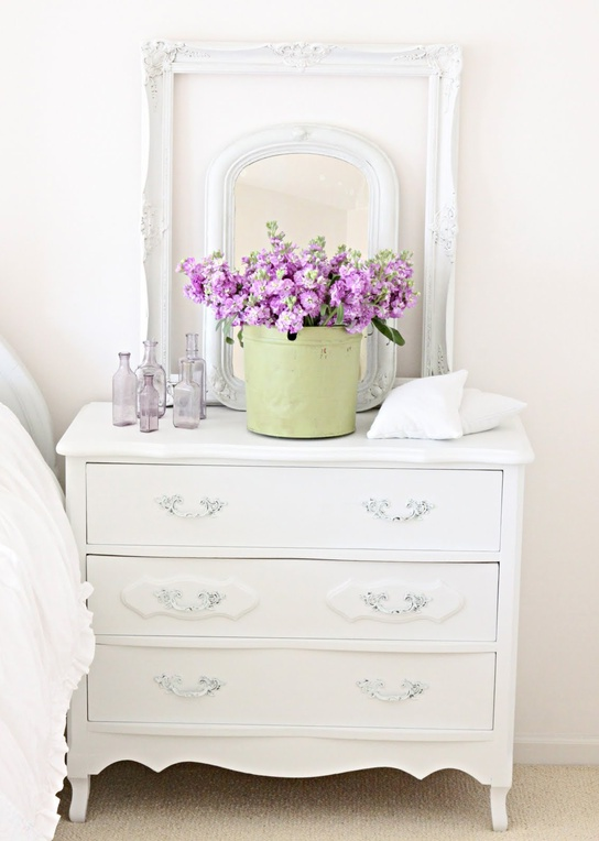 white chest of drawers in the interior ideas for home garden