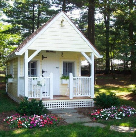 a small house in the garden ideas for home garden
