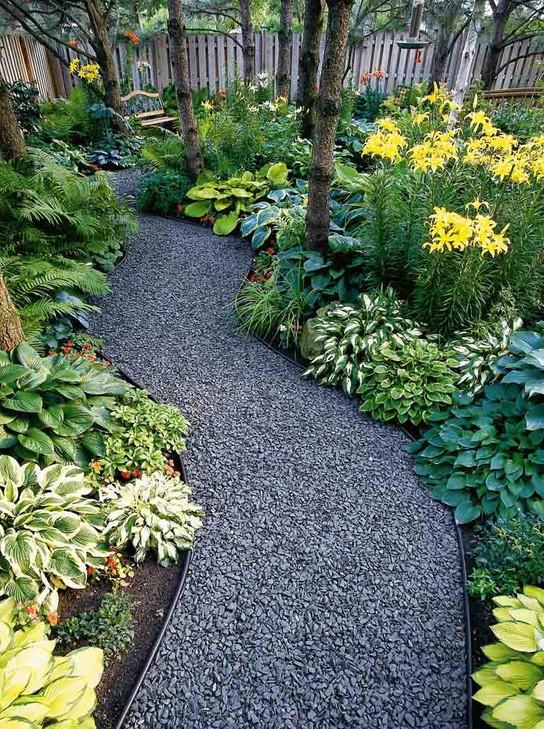 Garden design ideas no grass the image for No lawn garden designs