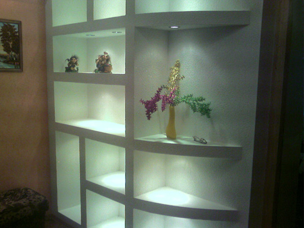 Striking Shelf In The Interior Ideas For Home Garden