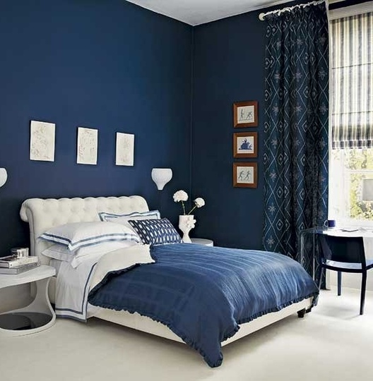 Interior Blue Colored Rooms the blue color in interior ideas for home garden bedroom a relaxing soothing creating an atmosphere of safety and comfort perfect almost all rooms especially bedr