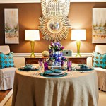 Beautiful dining room by designer Lisa Mende