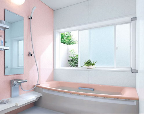 Nice interior for small bathrooms ideas for home garden Peach bathroom