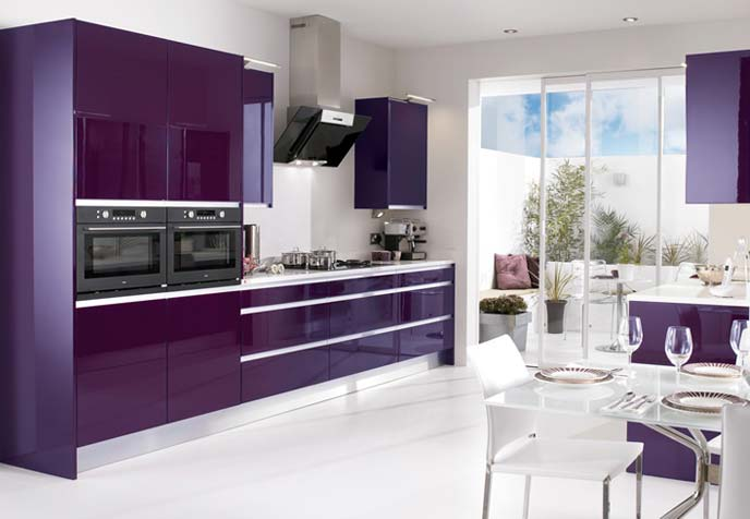 Shades Of Purple In The Interior Ideas For Home Garden Bedroom Kitchen