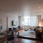 Three-room apartment in Kiev
