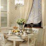 The beautiful dining rooms in French style
