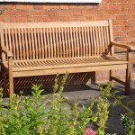 Bench in your garden.