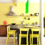 Bright sunny kitchen