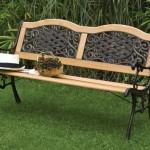 Combined garden bench.