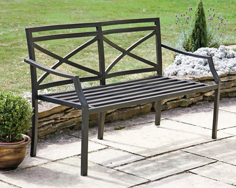 Metal garden bench ideas for home garden bedroom Garden benches metal