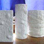 Vases of plaster make ourselves