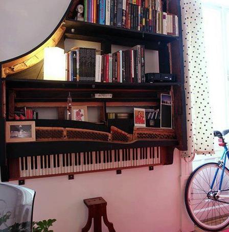 Interesting Shelves For Books Ideas For Home Garden
