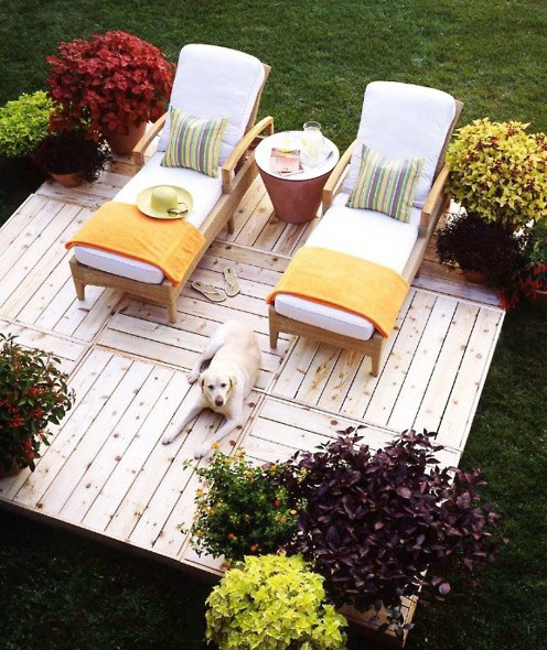 Ideas For Home Garden Bedroom Kitchen: Resting Place In The Garden.