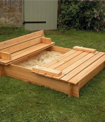 sandbox design ideas