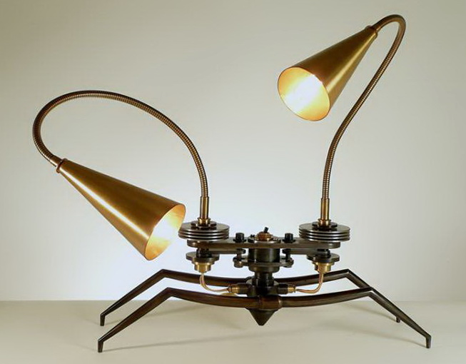 1-Creative lamp from Frank Buchwald