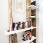 Wooden shelf hand-made