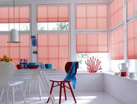 1-bright red shutters