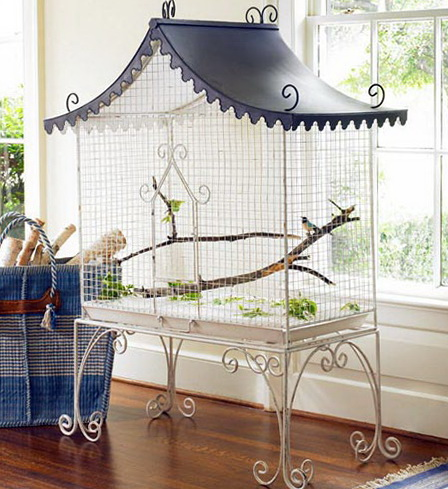 Tasteful decoration ideas for home garden bedroom for Bird decorations for home
