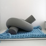 Huge knitted furniture