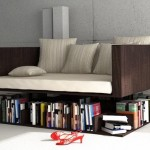 Sofa which hovers in the clouds