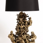 Table lamp in children's toys