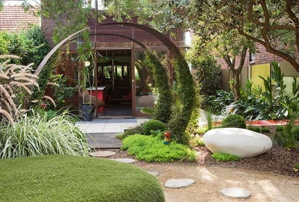 Beautiful landscape design of gardens Ideas for Home Garden