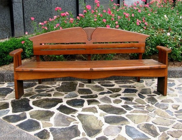 Garden Furniture Wood beautiful garden wood furniture contemporary - home decorating