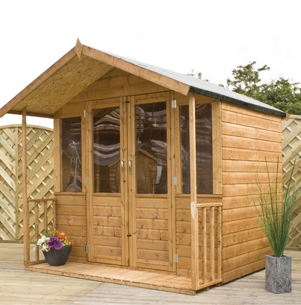 Designer summer houses 28 images small wooden shed for Oxford garden designs