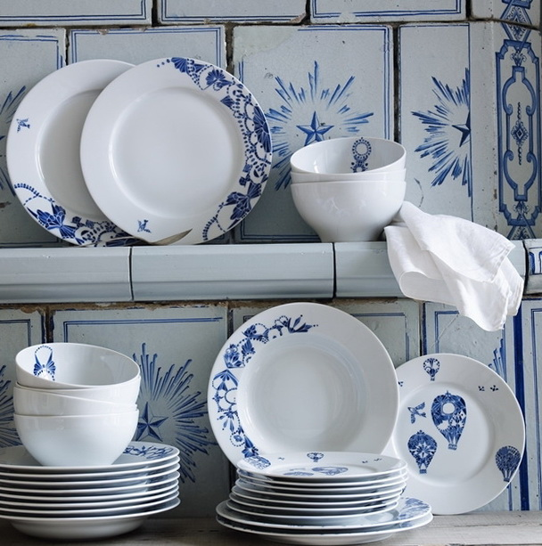 1-New beautiful collection of dinnerware from Ikea