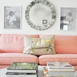 Gentle peach color in the interior