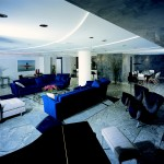 Magnificent apartment with marble