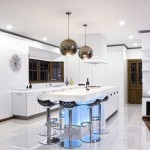 Modern interiors are bright kitchens