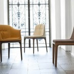 The unique design of the chairs from Angelo Domaiuolo