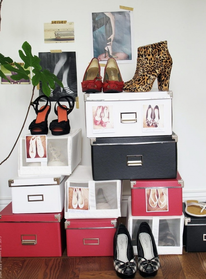 Original Solutions For Storage Of Shoes From Ikea Ideas