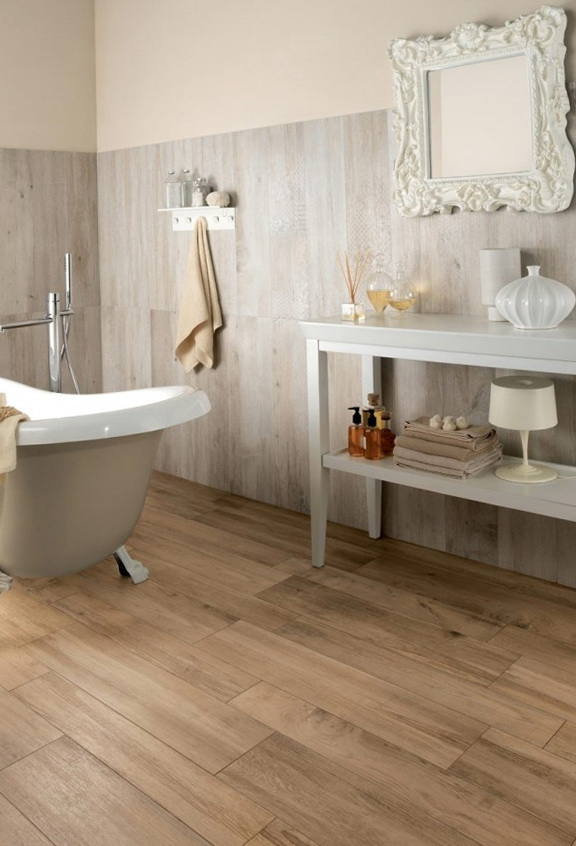 Beautiful wood tile from ariana italiana ideas for home garden bedroom kitchen Bathroom ideas wooden floor