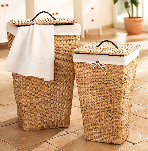 laundry baskets with ideas for baskets in bathrooms - Bathroom Baskets