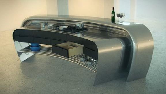 1-Modern Steel Kitchen