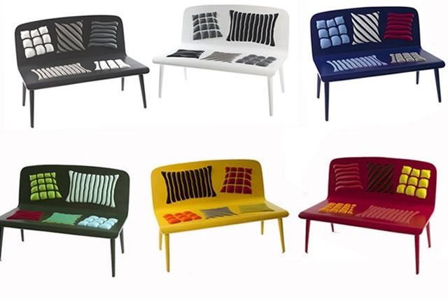 Perfekt Bright Bench By Designers From Alessandra Baldereschi .